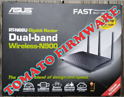 Asus Rt-n66u N900 Dual-band Wireless Router Tomato Firmware Vpn Multiwan