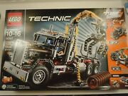 Lego 9397 Technic Power Functions Included - Logging Truck 1308 Pieces