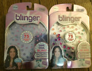 2x Blinger Sparkle Collection Refill Packblinger With 75 Adhesive Gems