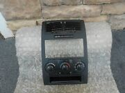 08-10 Dodge Charger Magnum Center Dash Radio Bezel Heater Control Vents Oem