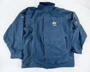 Volvo Embroidered Work Zip Up Jacket Tractor Motor Mesh Lined Mens Size 2xl