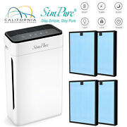 Home Large Room Air Purifier Medical Hepa Air Cleaner For Allergies Smoke Asthma