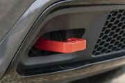 Rough Country Forged Tow Hooks 15-19 Grand Cherokee Wk2   Red