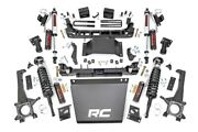 Rough Country 6 For Toyota Suspension Lift Kit Vertex Shocks 16-20 Taco 4wd/2wd