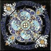 Marble Dining Table Top Pietra Dura Art Office Table Antique Work Handmade Craft