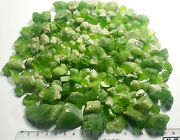 700-gm Top Quality Peridot Natural Well Terminated Crystals Lot From Pakistan
