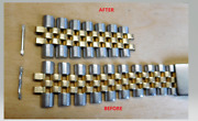 Rolex Bracelet Stretch Repair Service On Your Datejust/ Gmt Jubilee Only
