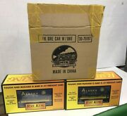 2 Mth Trains Rail King Alaska Freight Cars 30-75197 New In Box Free Shipping