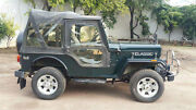 Stitched Soft Top For Jeep Mahindra Cj340 Mahindra Classic Cl340 Black And Gray