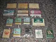 Lot Of 15 Vintage Hamilton Watch Co. Full Match-books Super Nice Condition