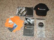 Hamilton Watch Collectables Hat, Pen, Booklets, Awesome Nos Items