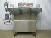 Hobart C44a Stainless Steel Heavy Duty Commercial Conveyor Dish Washer Machine