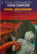 Ti-99/4a Used Lot Of 3 Carts And Manuals The Attack Early Learning Funblasto