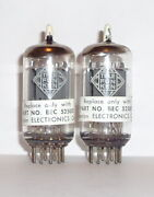 Ecc83 12ax7 Telefunken Smooth Plate Boonton Selected Matched Pair