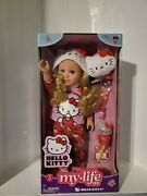 Hello Kitty My Life As 18 Blonde Pajamas Slippers Glasses Lamp Toothbrush