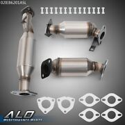 3pcs Catalytic Converter Fit For 09-17 Buick Enclave/chevy Traverse/gmc Acadia