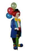 Clown With Balloons Life Size Statue Circus Prop Home Dandeacutecor Resin Display