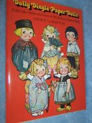 1978 Dolly Dingle Paper Dolls 30 Antique Dolls By Grace Drayton Reproduction