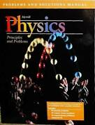 Problems And Solutions Manual Merill Physics Principles - Acceptable