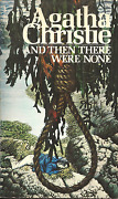 And Then There Were None Agatha Christie - Tom Adams Cover Art - Classic Mystery