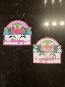 Girl Bridging Pink Unicorn Fun Patches Crests Badges Scout