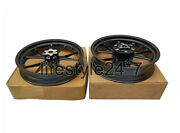 Use For Ktm Rc 390 Racing Bike Front And Rear Wheel Rim Black 2014 To 2016