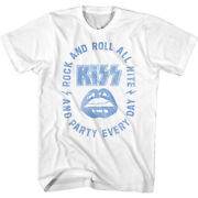 Kiss Rock N Roll All Nite Menand039s T Shirt Party Every Day Band Nyc Concert Merch