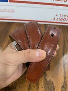 Joseph And Lyman Menand039s Leather Belt Size 34 Color Light Brown