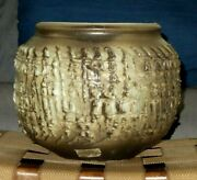 Large Ceramic Vase By N. Azaz And A. Meir And P. Amir Harsa חרסה Beer Sheva Israel