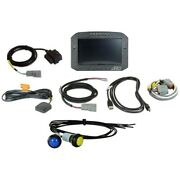 Aem Cd-7g Flat Panel Digital Racing Dash With Gps/pnp Obdii Cable 30-5702f