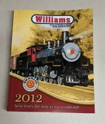Bachmann Trains And Williams Catalog - Year 2012 - Electric Railroad Sets