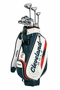 Cleveland Golf Club Set Cleveland Package With 11 Clubs Caddy Bag Right Flex S