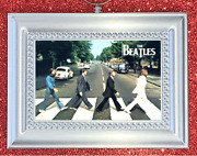 The Beatles Rock Band Abbey Road Album Cover Christmas Ornament