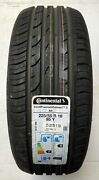 1 Summer Tyre Continental Contipremiumcontact 2 Ao 225/55 R16 95y New 317-16-7a