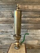 Vintage Brass Steam Whistle Large Steam Whistle 31 Inches