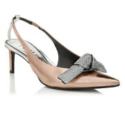 Tom Ford Crystal Bow Slingback Shoes - Bnwt- Rrp2200 Aud