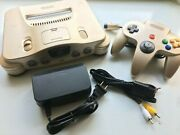 Limited Toy R Us Gold Nintendo 64 N64 Region Free Authentic Console