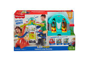 Fisher-price Little People Wheelies Launch And Loop Playset