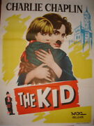 The Kid 1921 Charles Chaplin Jackie Coogan Edna Purviance Poster India 30 X 40