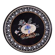 Marble Dining Table Top Antique Work Patio Table With Unique Design Handicrafts