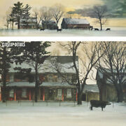 50wx14h Backland By Peter Sculthorpe - Farm Land Cows Barns Choices Of Canvas