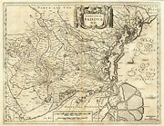 Antique Map-italy-padua-padova-hondius-janssonius-1636