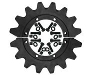 1 Drive Sprocket Set 8j6544 16 Tooth 8 Bolt 3/4 Bolts Fits Some Cat Scrapers
