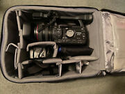 Canon Xh A1s Mini Dv - Very Light Use With Roller Case