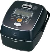Zojirushi Ih Pressure Rice Cooker Southern Iron Hagama 5.5 Cups Nw-as10-bz New