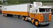 1/64 Dcp K100 Kenworth Tnt Exress Australian Style And Tri Trailer New 60-0820