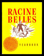 1948 Aagpbl Racine Belles Yearbook And Scorecard Western Division Champions Nice