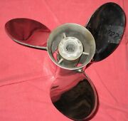 Turbo 2 14 1/4 X 26 Stainless Prop For Mercury Mariner Searay 135 - 300hp B787