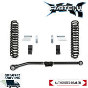 Fabtech 2.5 Basic Lift Kit W/ Front Shock Extension 17-20 Ford Superduty Diesel