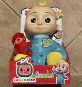 Cocomelon Jj Doll Plush Musical Bedtime 10 Soft Toy And Bear Netflix Ships Now 🔥